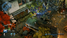 Not all scenery can be destroyed in Alienation. However, physics properties mean that destructible objects break apart realistically, with debris that react to characters, explosions and weapons fire.