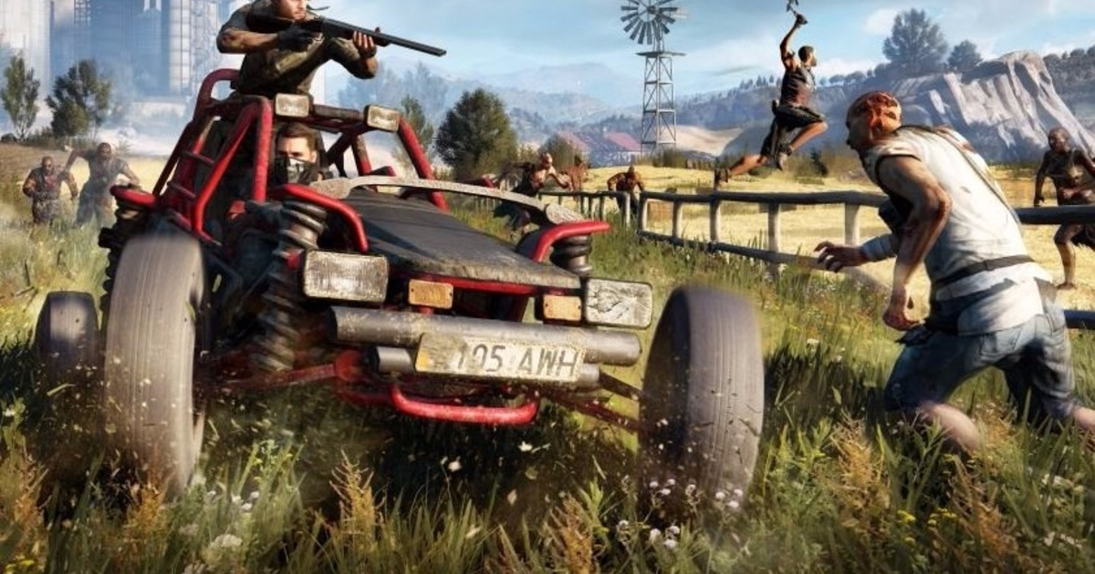 Watch Weaponising The New Two Seater Buggy In Dying Light