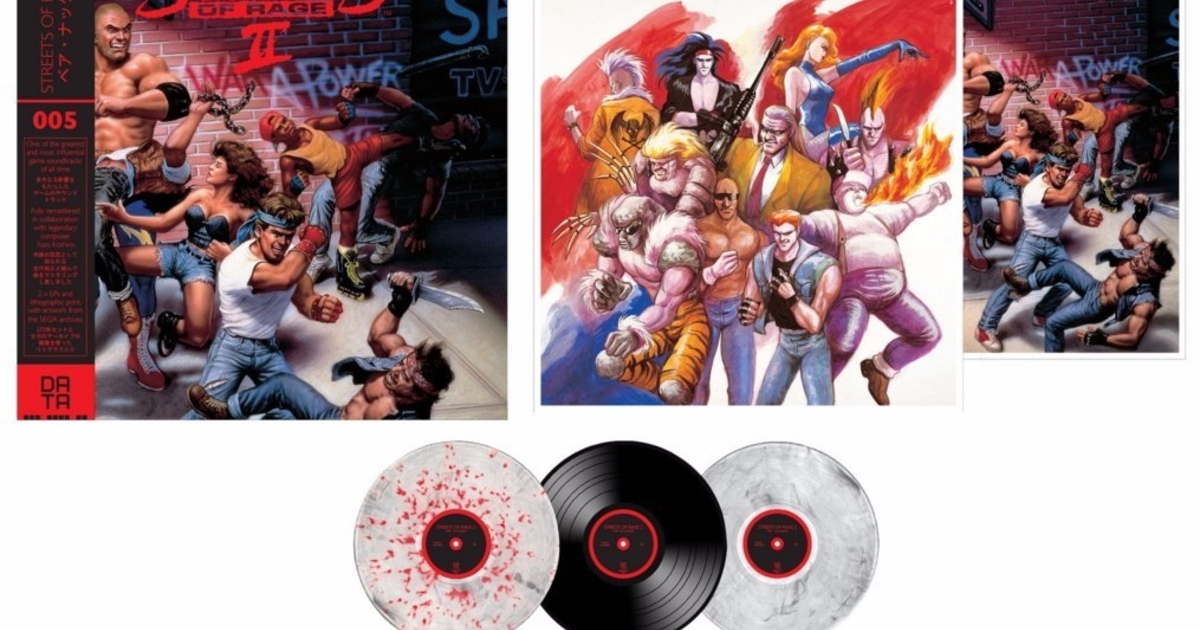 Streets Of Rage 2 Soundtrack Is Getting A Vinyl Release