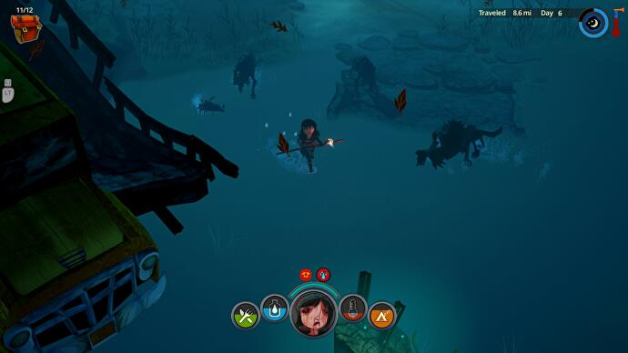 The Flame in the Flood review • Eurogamer net