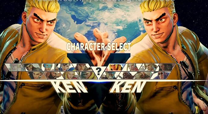 street fighter 5 arcade edition characters select