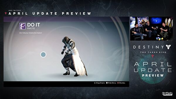 Destiny april update includes new loot packs and infusion changes