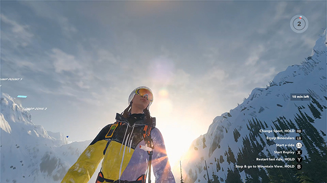 We Fling Ourselves Down a Mountain in Steep Gameplay from E3 2016