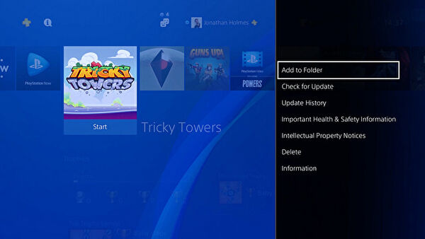 PlayStation 4 firmware version 4.00 is now live, start using folders!