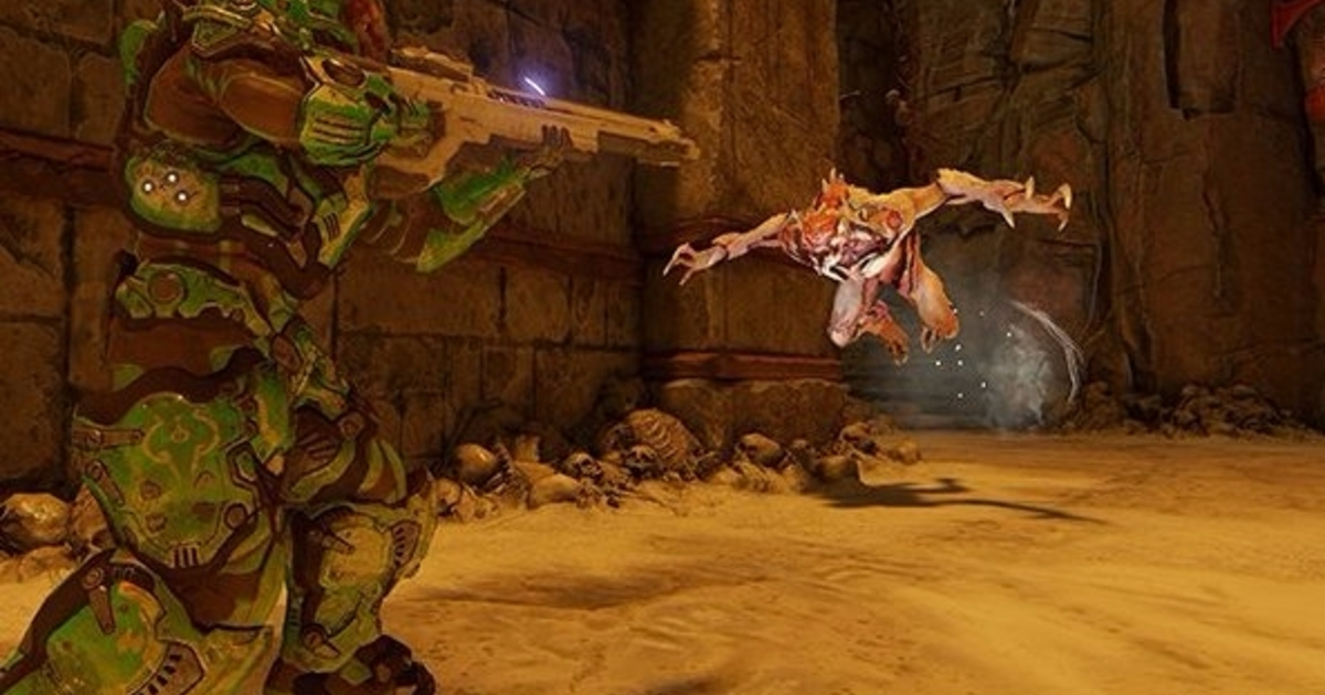 Doom S Free Update Today Adds A Score Attack Arcade Mode