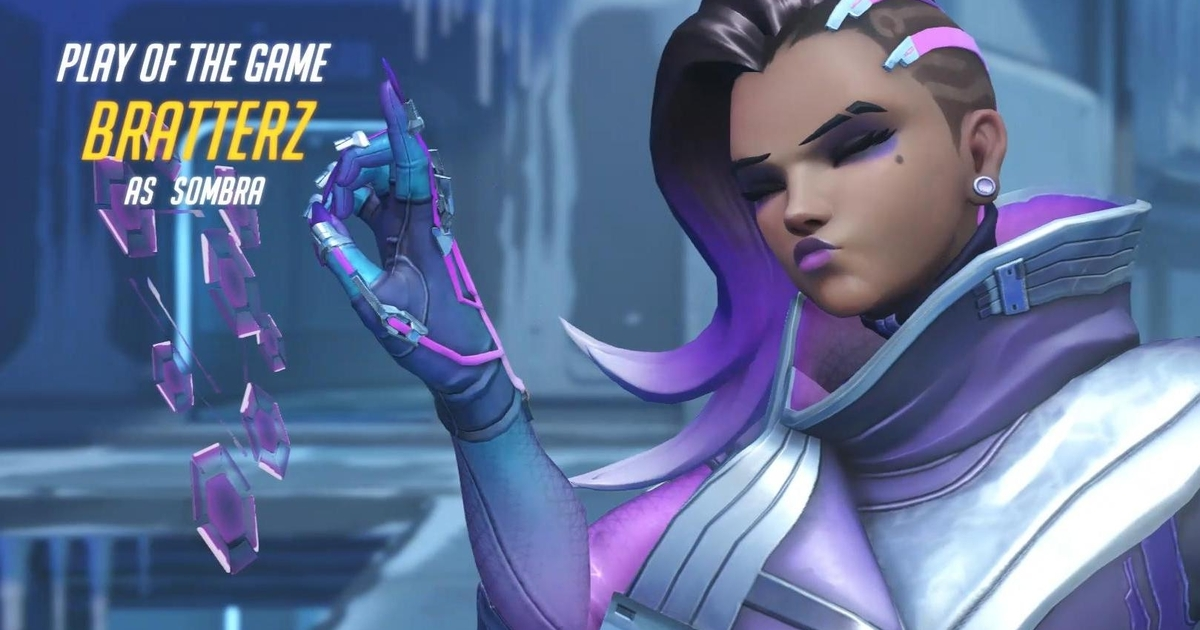 Overwatch S Sombra Can Hack The Play Of The Game