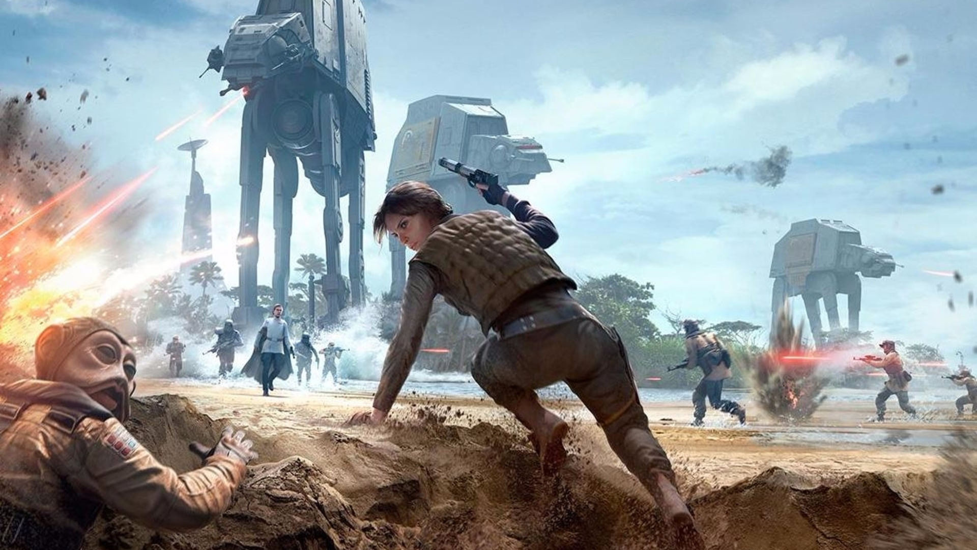 Star Wars Battlefront is getting Rogue One DLC ahead of film's launch