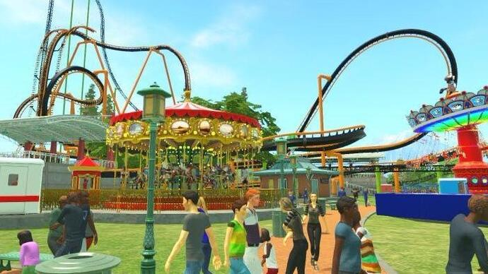 Rollercoaster Tycoon Worldreview