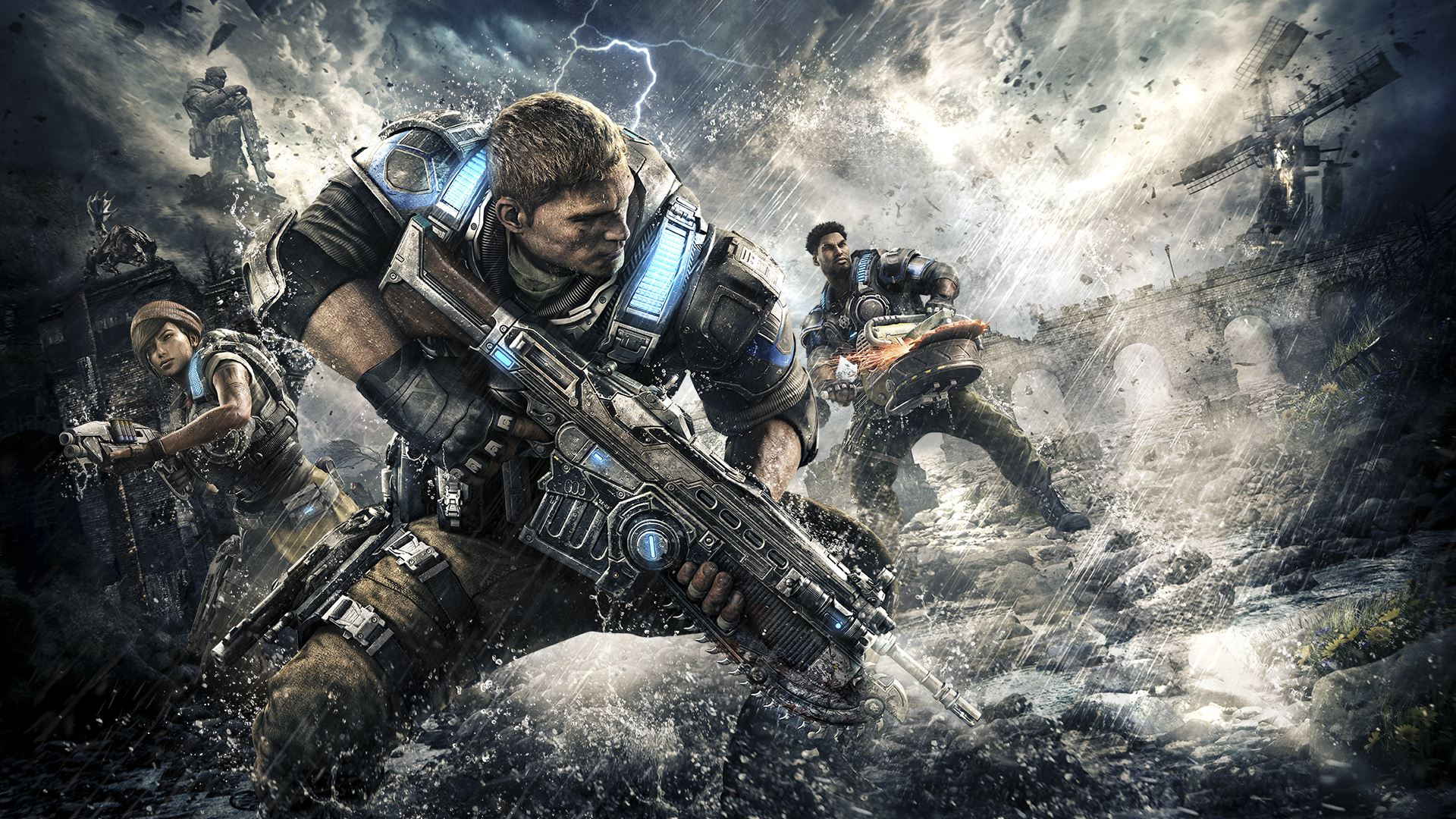 Let's Play Gears of War 4 PC at 4K 60fps