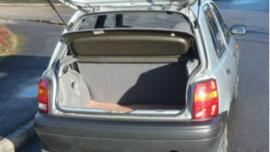 I was kidnapped at gunpoint and shoved into the boot of my car