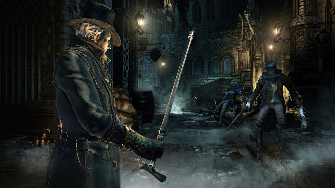 Coolest Hat Ever >> Bloodborne PlayStation 4 Review: Into the Nightmare | USgamer