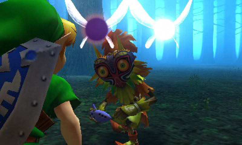The Legend of Zelda Majora's Mask 3D Review: Rewind to a More Daring
