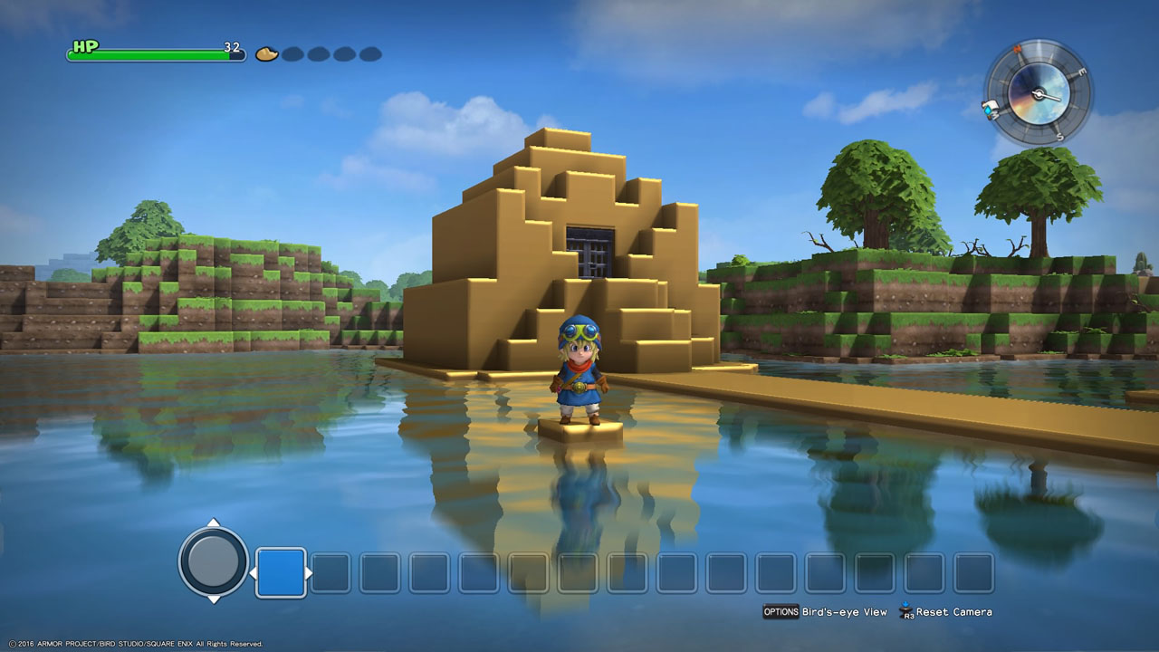 dragon quest builders is minecraft meets dragon quest