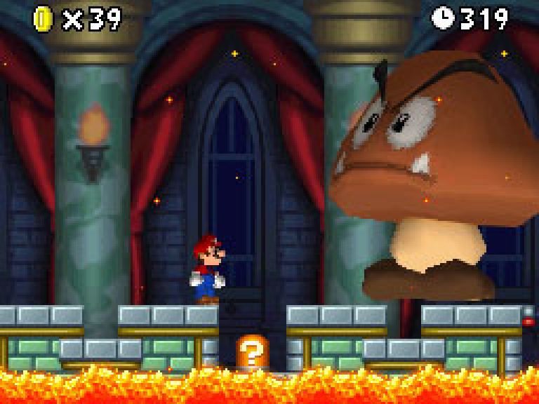 10 Years Ago New Super Mario Bros Made Old School Cool Or