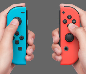 Switch clicks in the hands