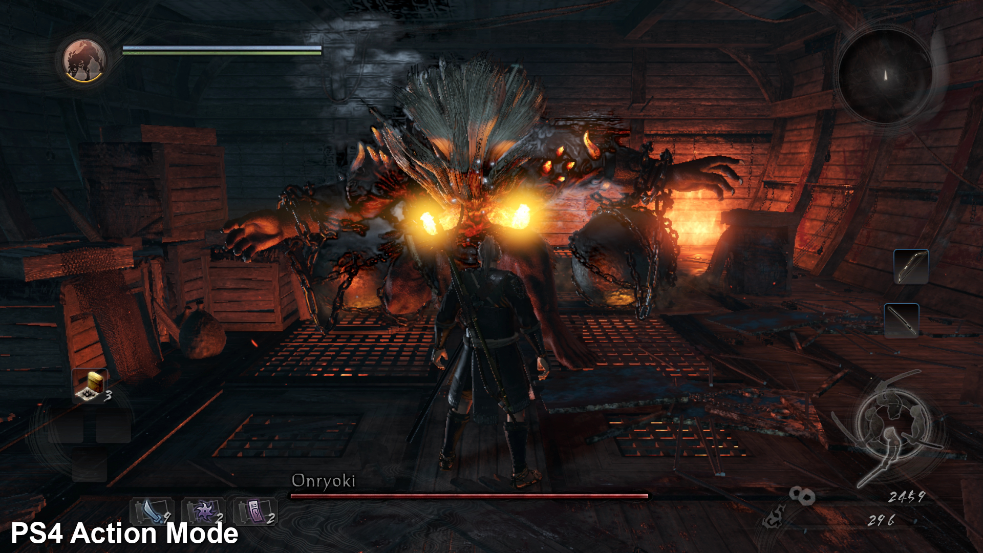 Face Off Nioh On Ps4 And Pro The Last Guardian Reg 3 Even In Close Quarters Large Enemy Encounters Such As This Can Send Resolution Plummeting Base Playstation 4