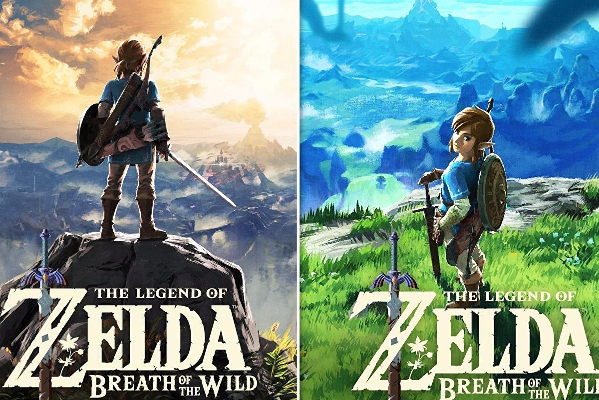 Let's compare and contrast the US and European Legend of Zelda: Breath of  the Wild box art • Eurogamer.net