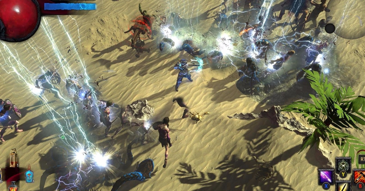path of exile ps4 download