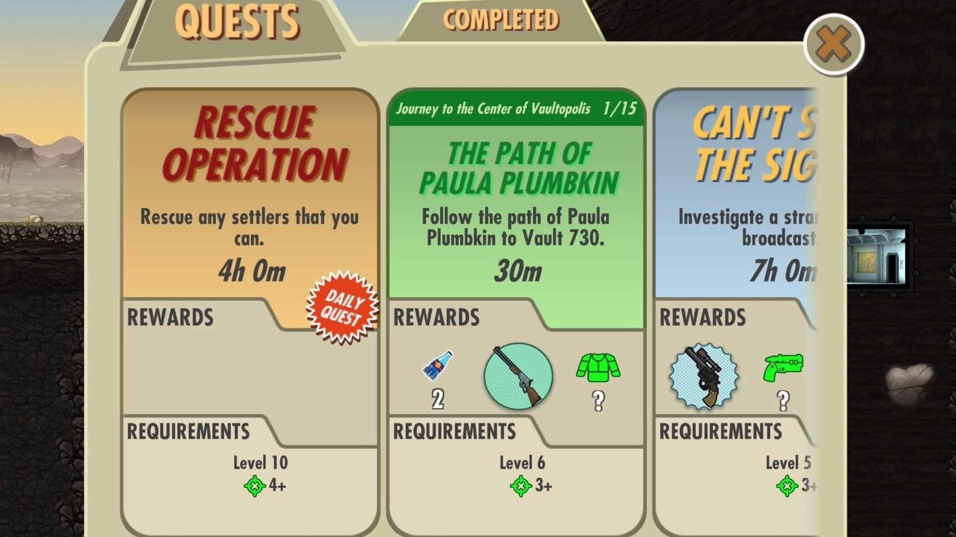 Fallout Shelter Quests Combat Tips Daily And Rewards 3 Way Switch Meaning Explained
