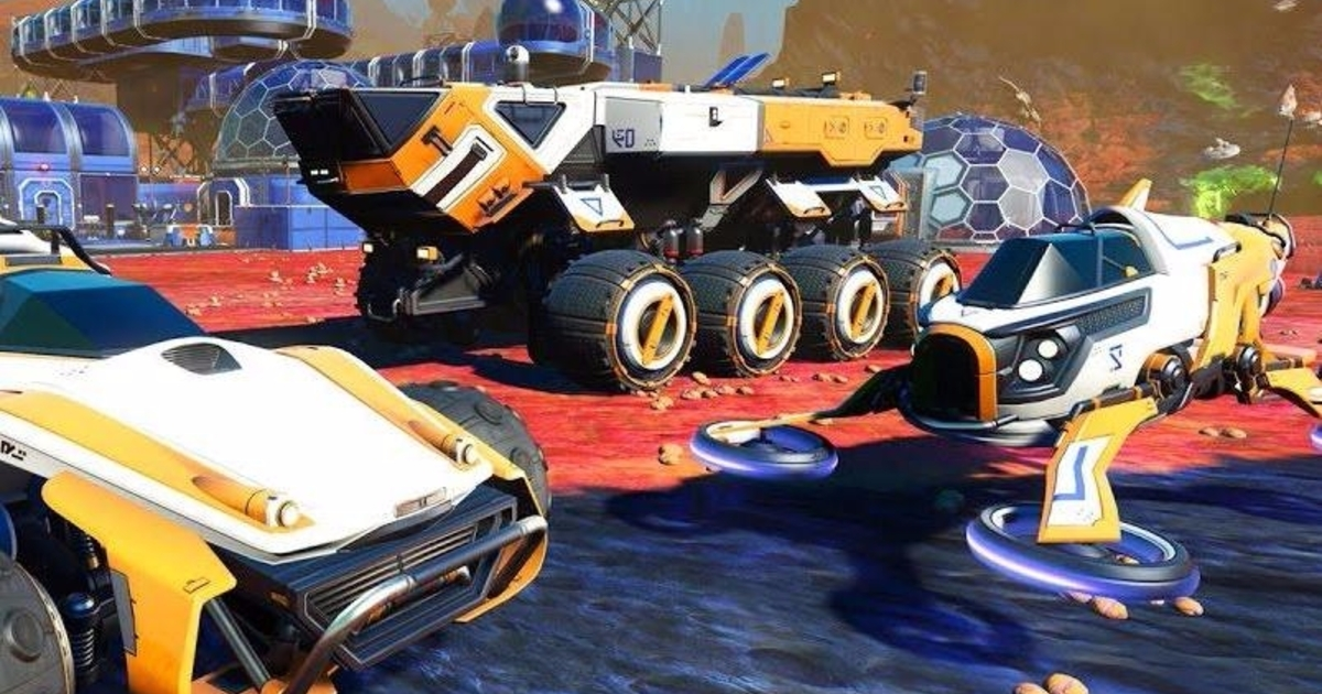 No Man S Sky On Ps4 Pro Delivers The 1080p60 Dream