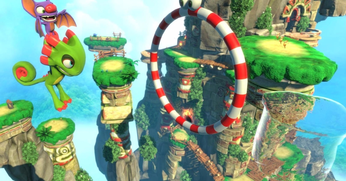 Yooka-Laylee guide and walkthrough - tips for completing and finding Yooka-Laylee's many collectibles