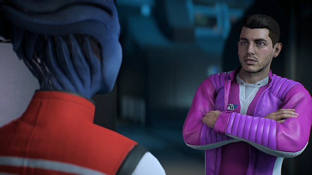 Mass Effect Andromeda: Jerk Ryder Flirts with the Entire Crew of the Tempest