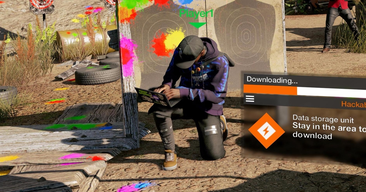 Watch Dogs 2's new paintball rifle is just the kind of non-lethal weapon the game needs
