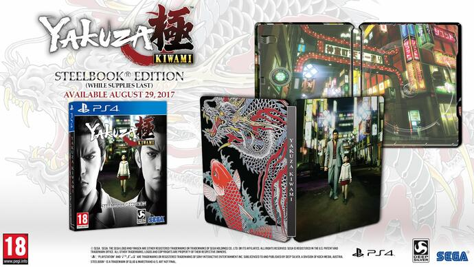 Jelly Deals: Yakuza Kiwami gets a release date and steelbook launchedition