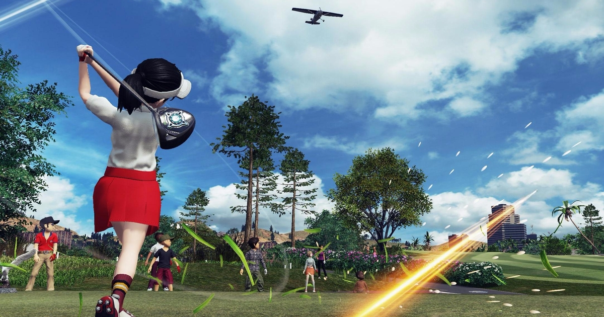 Everybody 39 s golf lands ps4 release date for Ps4 fishing games 2017