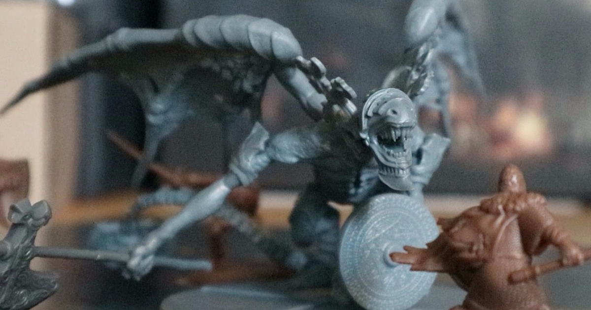Dark Souls the Board Game is smarter than it is hard
