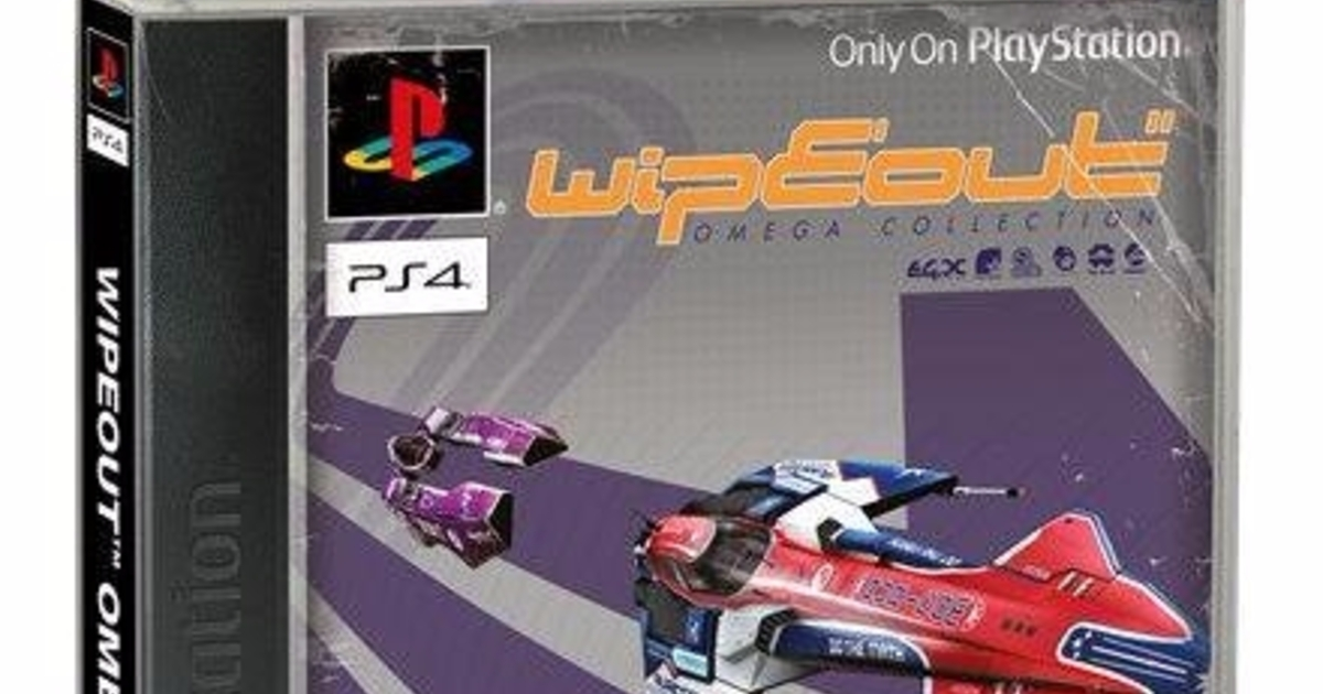 Ps4 Wipeout S Classic Sleeve Is Psx Nostalgia Supreme