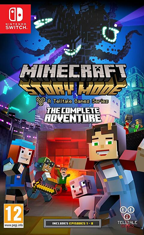Minecraft Story Mode S First Season Coming To Switch This Month