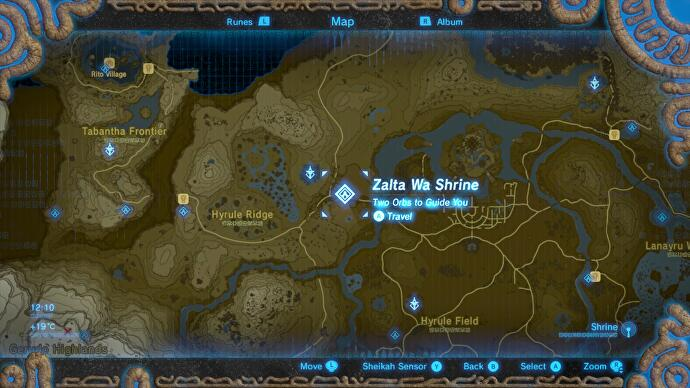 Zelda - Zalta Wa and the Two Orbs to Guide You trial