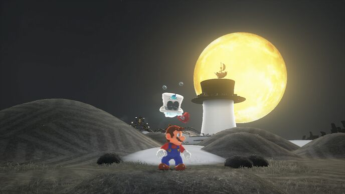 How Super Mario Odyssey scales across docked and handheld modes