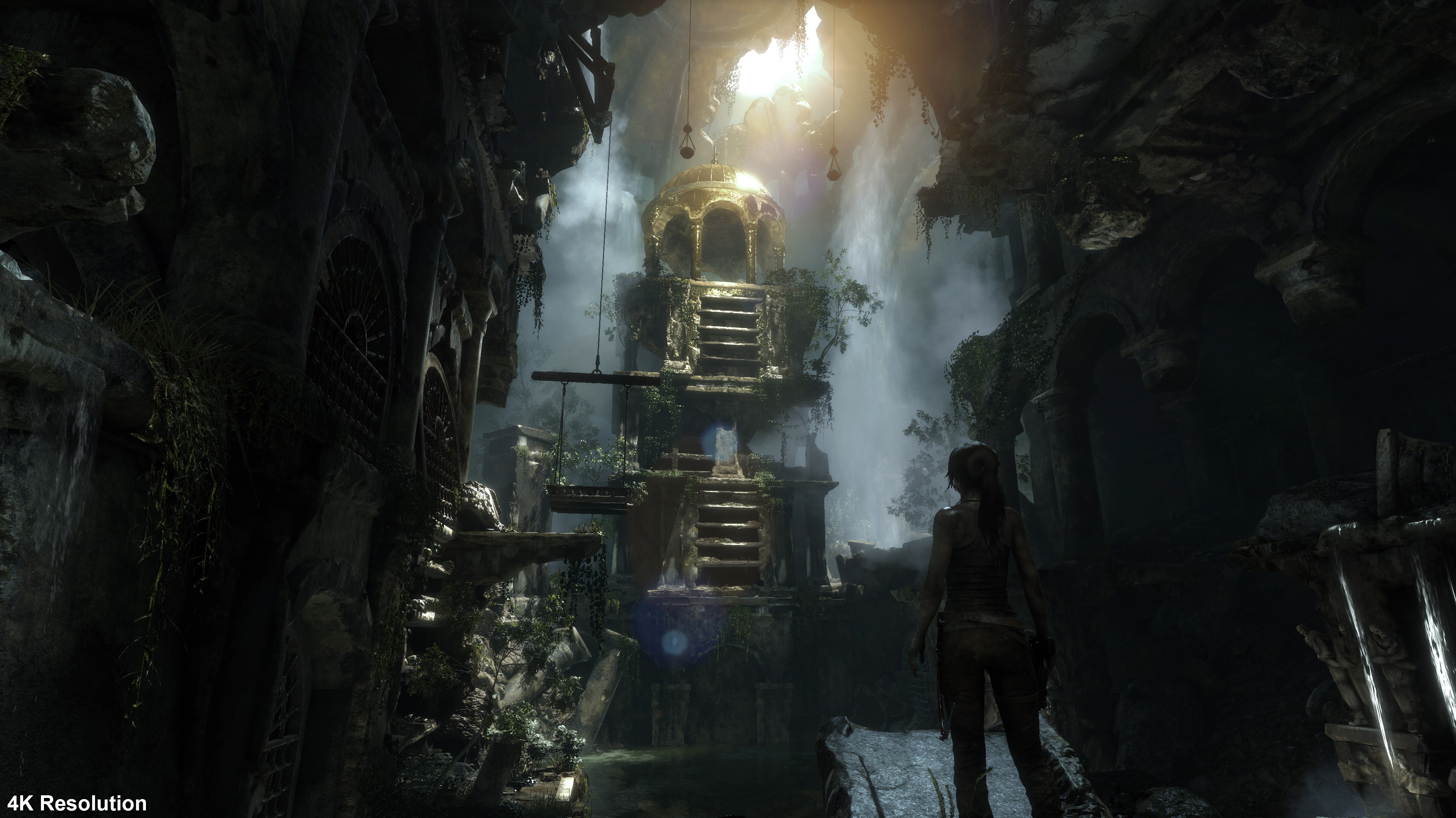 True 4K isn't the best way to play Rise of the Tomb Raider