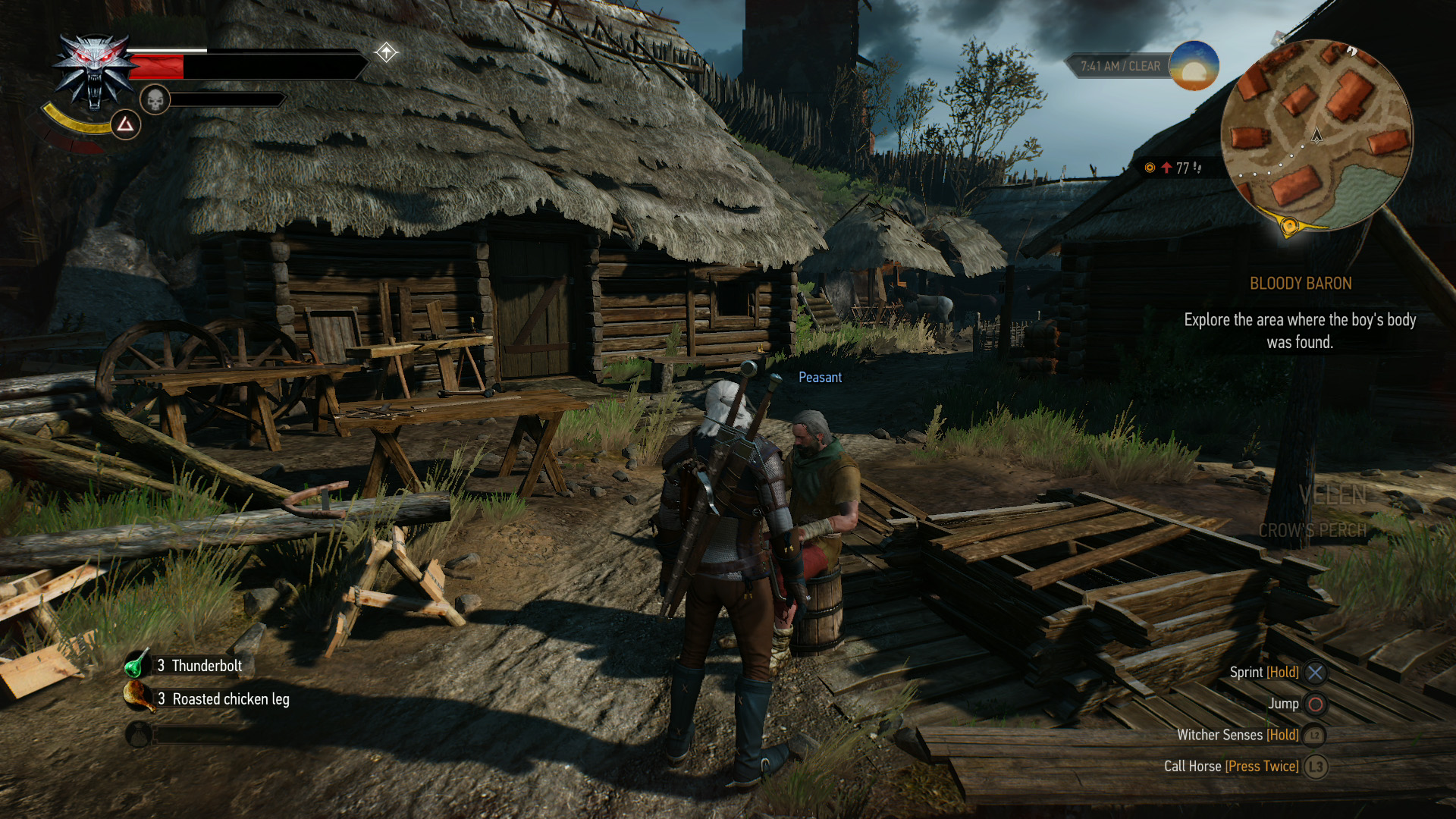 Here's what The Witcher 3 looks like at 4K on PS4 Pro • Eurogamer net