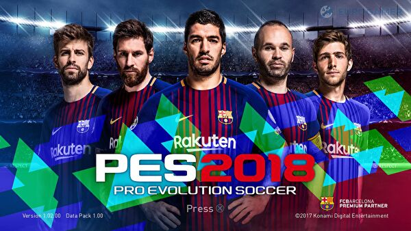 PES 2018 gets its first data pack update