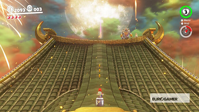 Super Mario Odyssey Showdown At Bowser S Castle And How To