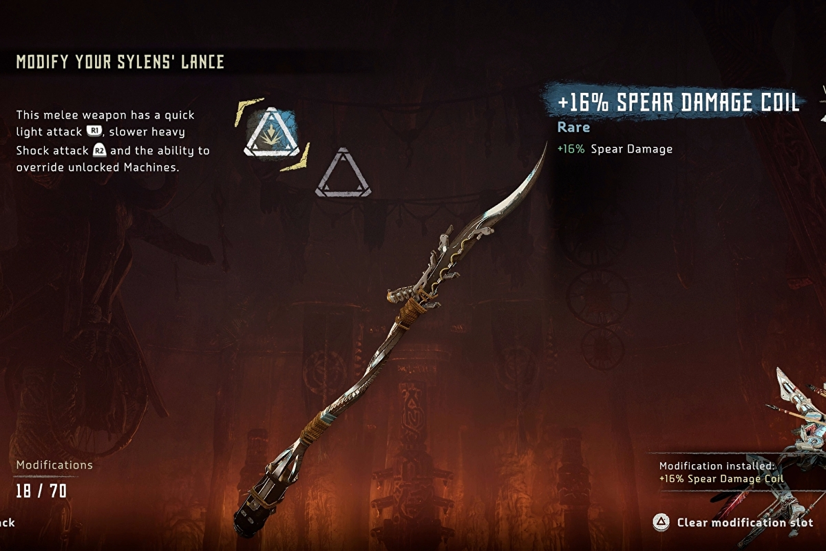 Horizon Frozen Wilds A Secret Shared - how to upgrade your