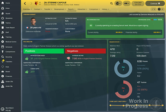 Football Manager 2018 – The best promises and hidden stars