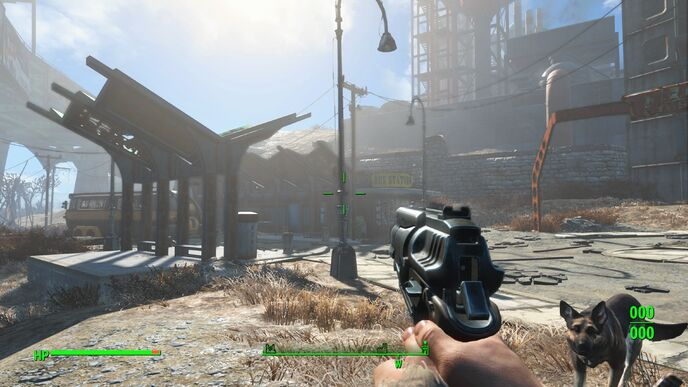 Fallout 4 on Xbox One X delivers a detail-rich 4K experience