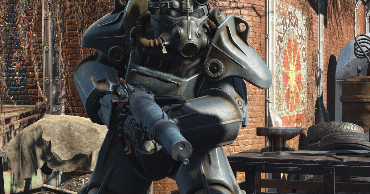 Fallout 4 On Xbox One X Delivers A Detail Rich 4k