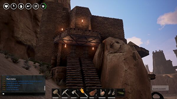 conan exiles how to kill ostrich