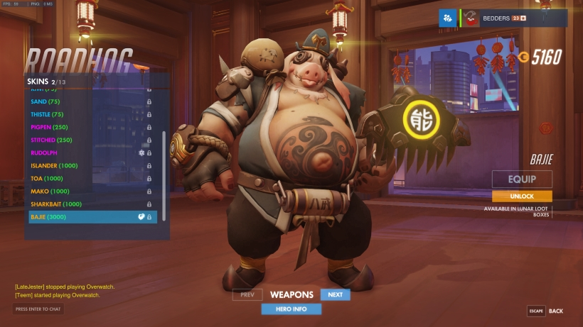 Year Of The Rooster Skins Overwatch Metabomb