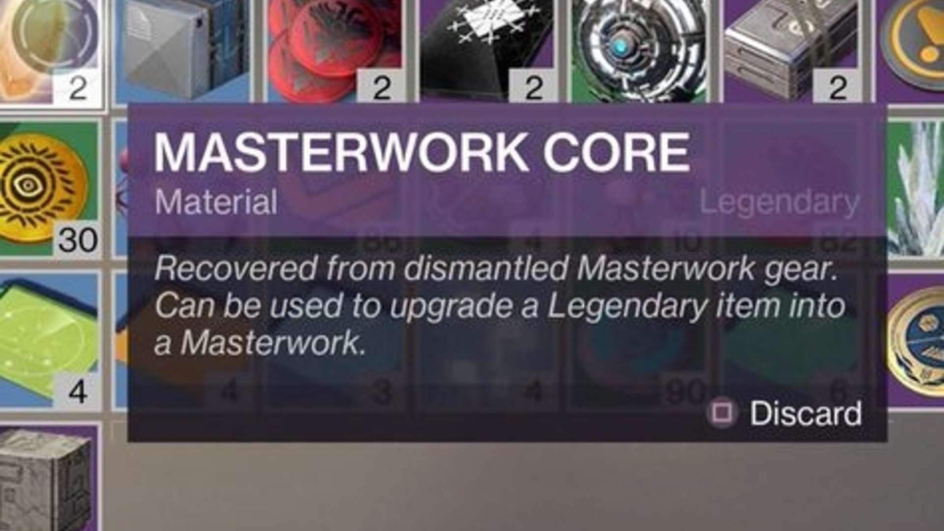 Destiny 2 Masterwork Core Sources And Catalysts List Way Switch Explained