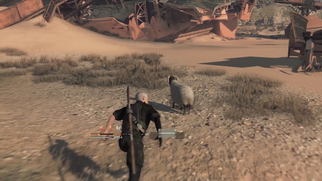 We Hunt Sheep, Build Fences in Metal Gear Survive Single Player