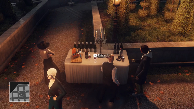 We Strive to Poison Hitman Elusive Target The Sensation