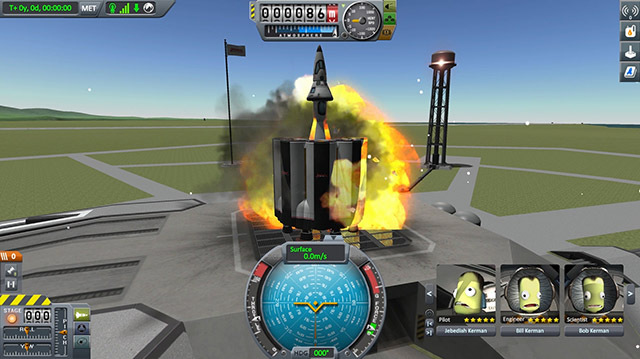 Kerbal Space Program: It's Jane vs Mike in the Oxbox Space Race