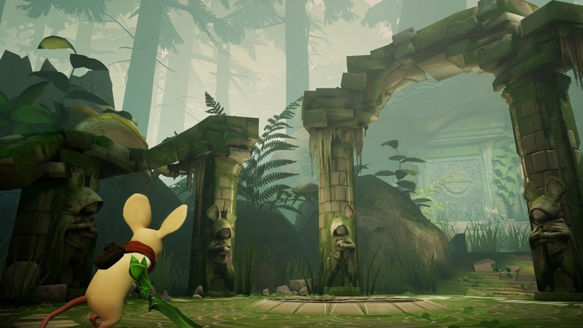 Heres More Mousy Gameplay From Adorable Psvr Platform Puzzler Moss Soloco Ecer 2 Pcs