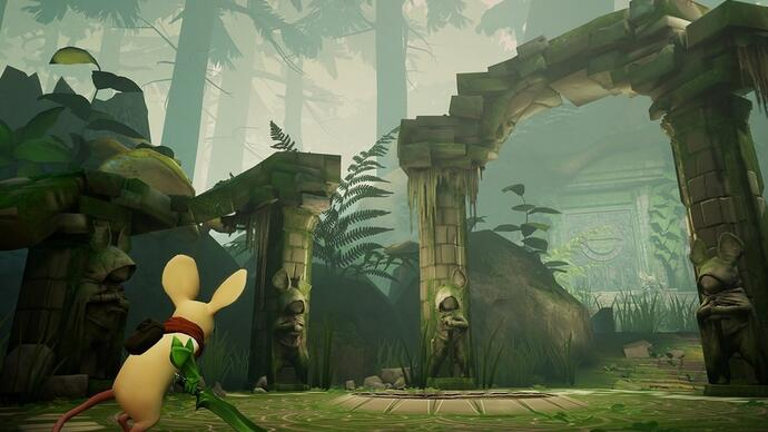 Here's more mousy gameplay from adorable PSVR platform puzzlerMoss